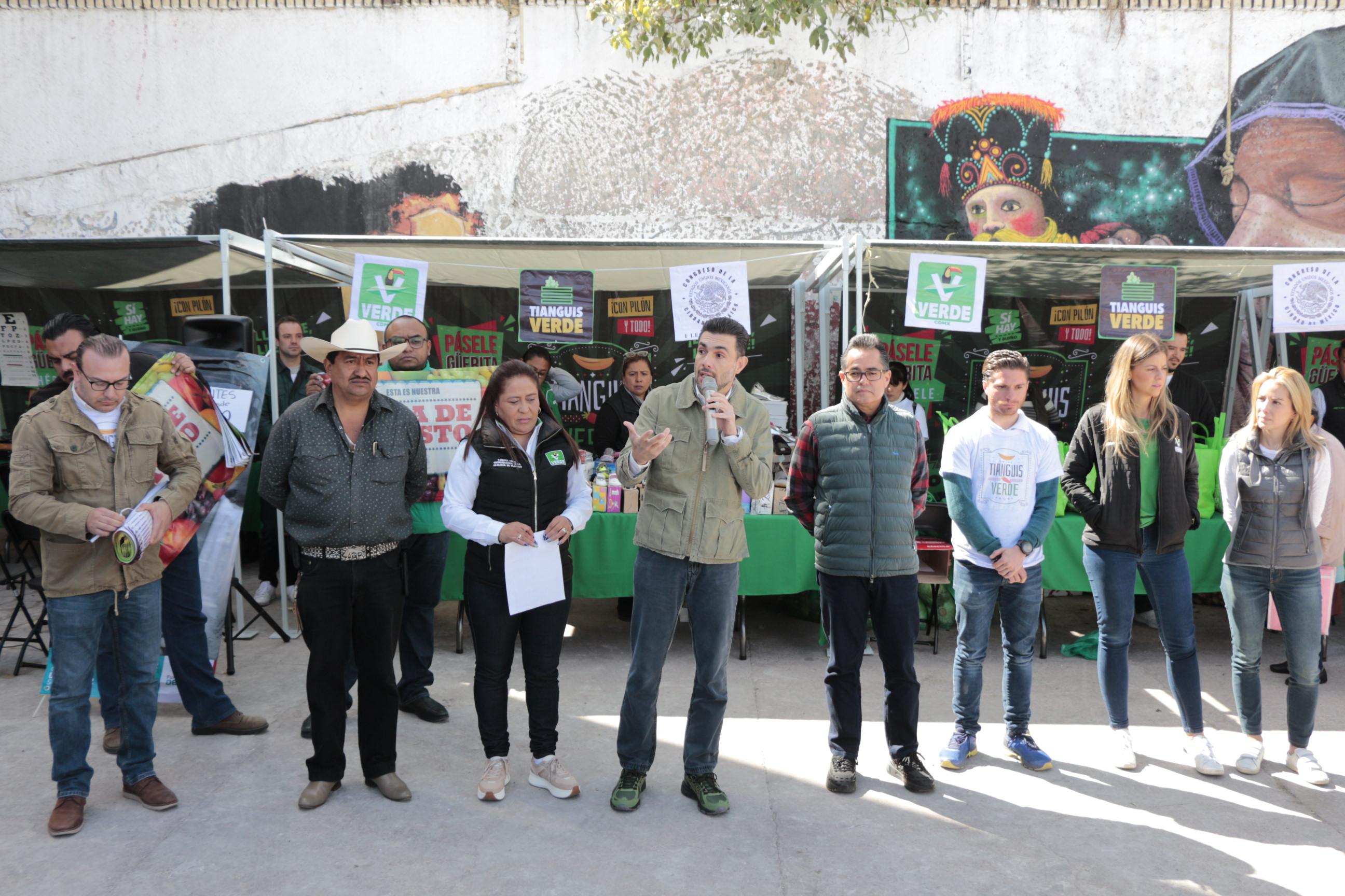 INICIAN LOS TIANGUIS VERDES EN LA CIUDAD DE MÉXICO