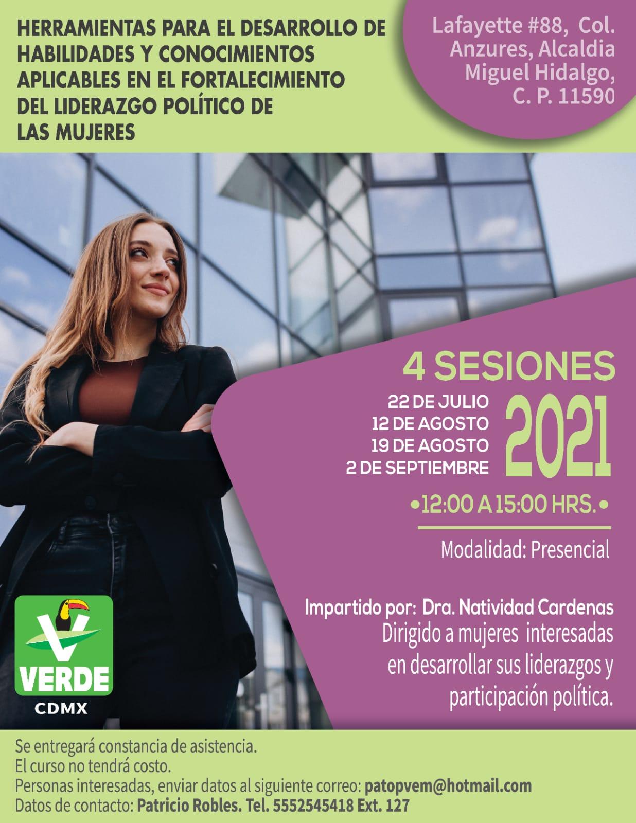 Taller Partido Verde Ecologista de México